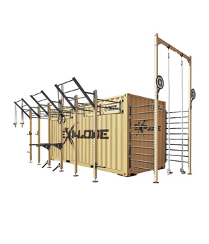 Functional training containers