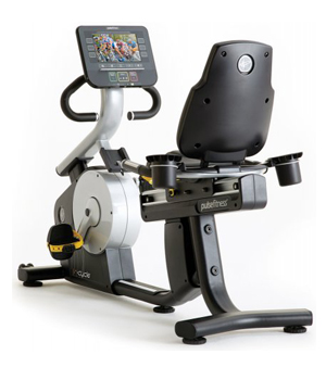 Recumbent cycle bike